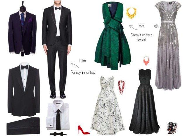 Dress Dress Black Tie Tùy chọn