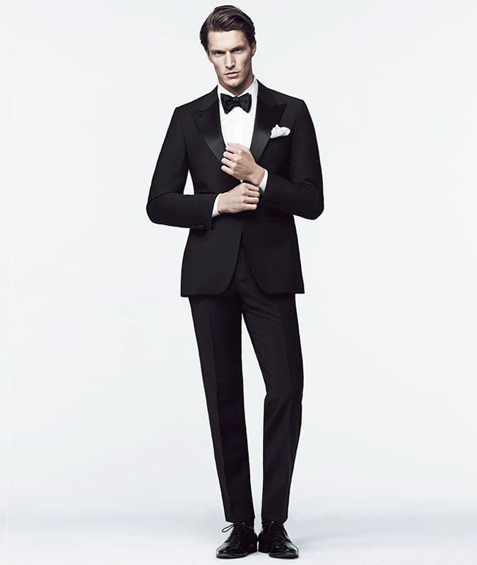 Dress Dress Black Tie cho nam